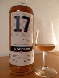 Clynelish 17 ans The Whiskyman &quot&#x3B;Age Matters&quot&#x3B;, IB, 53.3%