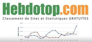 Faites connaître gratuitement votre site grâce au classement des sites francophones d'Hebdotop