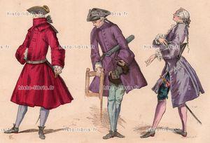 Mode masculine du 18ème siècle