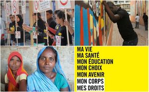 "Campagne d'Amnesty International ""Mon corps, mes droits"" 2014"