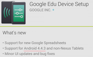 Google updated the Android operation system