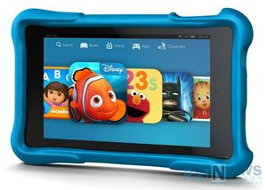 New Kindle HD tablet from Amazon