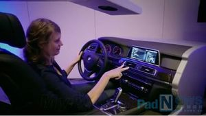 BMW cooperates with Samsung for new in car operation system