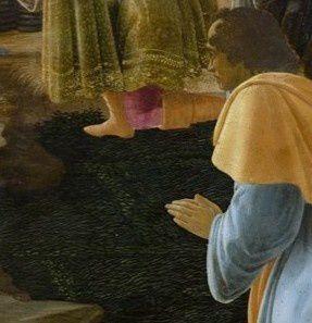 Un Avent en peinture (5) : L'adoration des mages de Botticelli