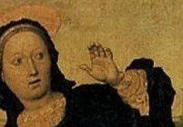 Un Avent en peinture (22) Carlo Braccesco : Triptyque de l'Annonciation