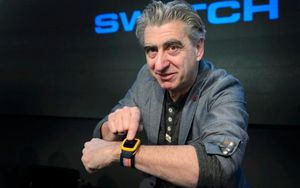 Swatch lance ses montres NFC