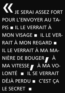 SAISON 4 - carte blanche #1 - VINCENT POIRIER vs. TOMAS ESPEDAL