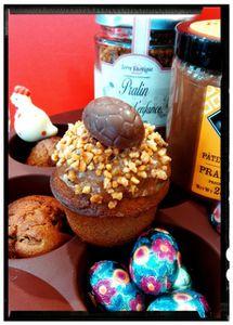 Mini Muffins Praliné