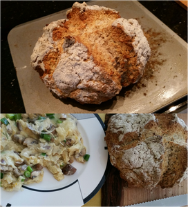 This morning bread experiment