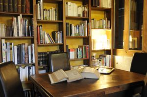 salle à manger bibliothèque