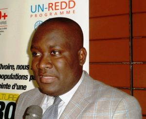Commandant Yao Marcel, négociateur ivoirien à la COP21 soutient l'activisme des africains.(ph Dr)