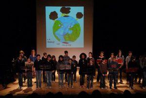 Musique : &quot&#x3B;La terre en colère&quot&#x3B;, spectacle pédagogique