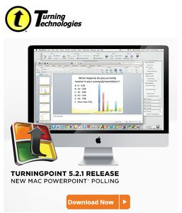 TurningPoint 5.2.1 pour Mac (english version only)