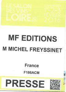 30 ème Edition du Salon des Vins de Loire