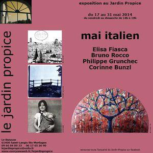 Mai italien au Jardin Propice (Orne)