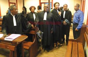 Le tribunal spécial de Cayenne.