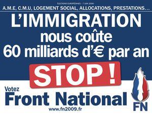 Un référendum pour le problème de l'immigration imposée par l'Europe.