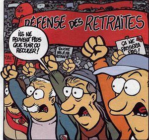 Le mardi 30 septembre, les retraités diront NON AU BLOCAGE DES PENSIONS