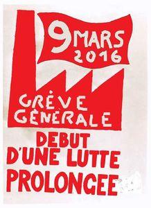 Mercredi 9 mars, mobilisation générale contre la &quot&#x3B;loi travail&quot&#x3B;