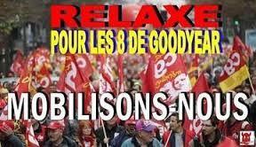 Soutien à nos camarades de goodyear, préavis de grève de la CGT Territoriaux de Bezons