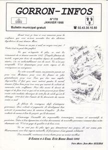 Histoire du bulletin municipal…