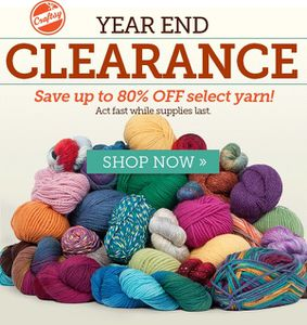 End of year clearance at Craftsy