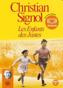 Les enfants des justes de Christian Signol (livre audio)