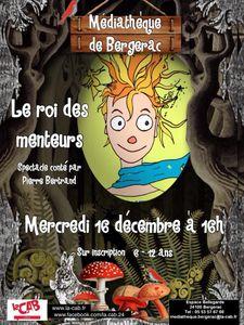 Mercredi  16 décembre: spectacle conté à la médiathèque