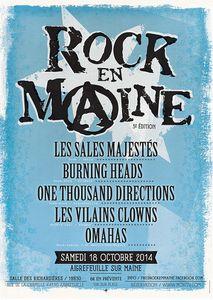 Gagnez vos places pour Rock en Maine 2014 avec Stefline Radio