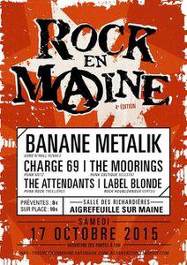 Gagnez 1 des 4 Entrées pour Rock En Maine 2015 avec Stefline Radio