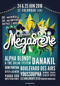 Gagnez Votre Pass pour Megascene 2016!!!