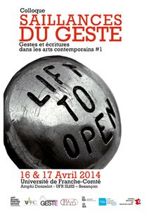 SaillanCeS du geSte (artS viSuelS, danSe, performanCe)