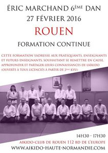 Formation et stage Eric MARCHAND