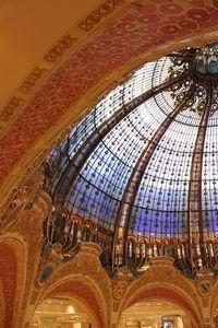 Les Coupoles des grands magasins parisiens