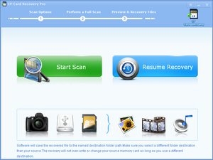 Restoring Data with Perfect Recovery Pro