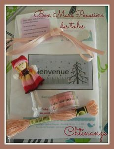 Box broderie Mars 2013