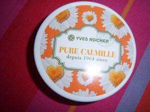 Collector Crème douceur visage et corps - Pure CALMILLE - YVES ROCHER