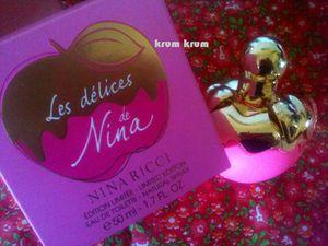 LES DELICES DE NINA - Mon eau de toilette &quot&#x3B;Fête des Mamans&quot&#x3B;