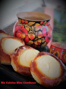 Vatroushki-Briochettes au Fromage- Russie