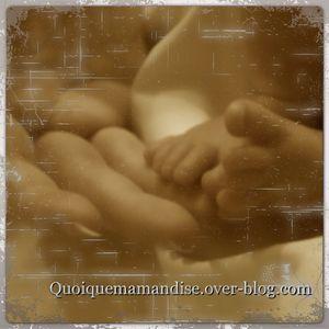 Le jour où je suis devenue Maman ....