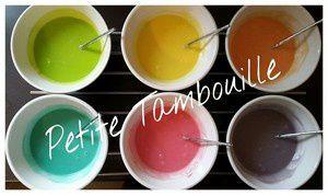 Rainbow Cake pour ses 2ans