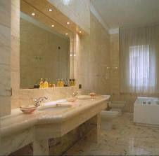 Arredamento bagno in marmo - Arredamento di lusso