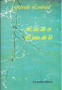 Recueil de poèmes illustré de photographies de l'auteur