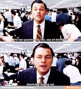 Le loup de Wall Street de Martin Scorsese