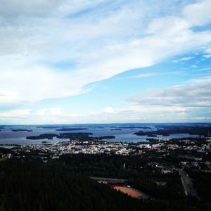 Kuopio City from Puijo Tower