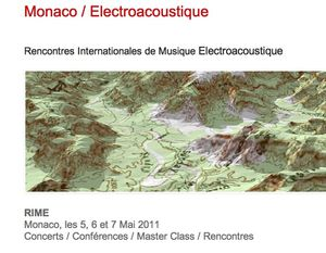 Rencontres Internationales / Monaco