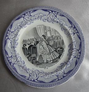 Des assiettes pour rêver&#x3B; Plates that make you dream