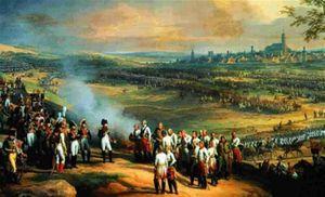 Le général autrichien Mack vaincu par Napoléon à la bataille d'Ulm