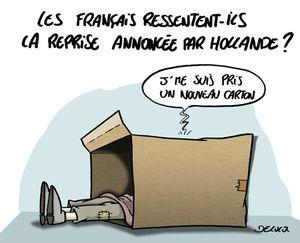 Déficit: La fermeture est claire, Hollande doit sortir sa braguette magique.