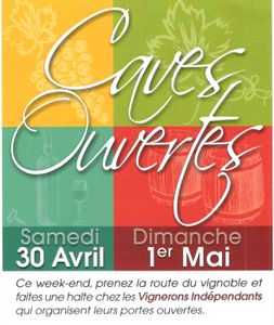Caves ouvertes 2016